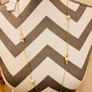 NWT Kate Spade Pearly delight necklace